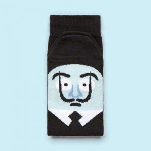 Fun socks - chatty feet - Sole Adore Dali - De Schoenkliniek